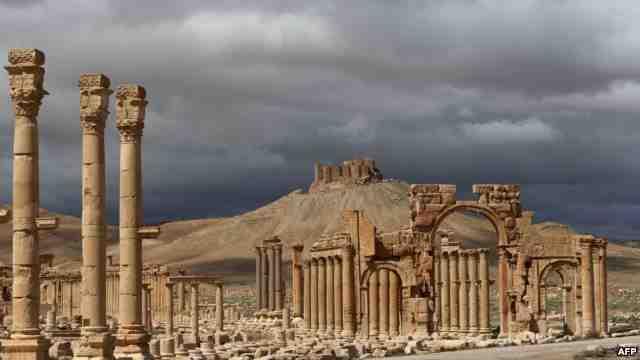 Древний город Пальмира заминирован боевиками ИГ