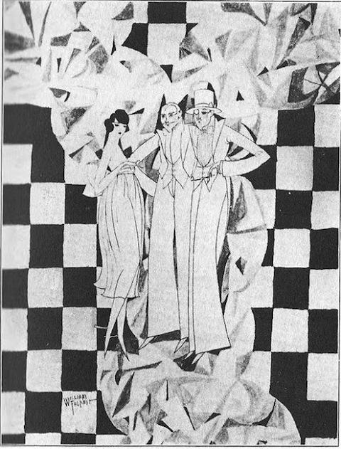рисунок шахматная доска У. Фолкнера
