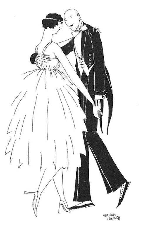 танцующая пара Фолкнера